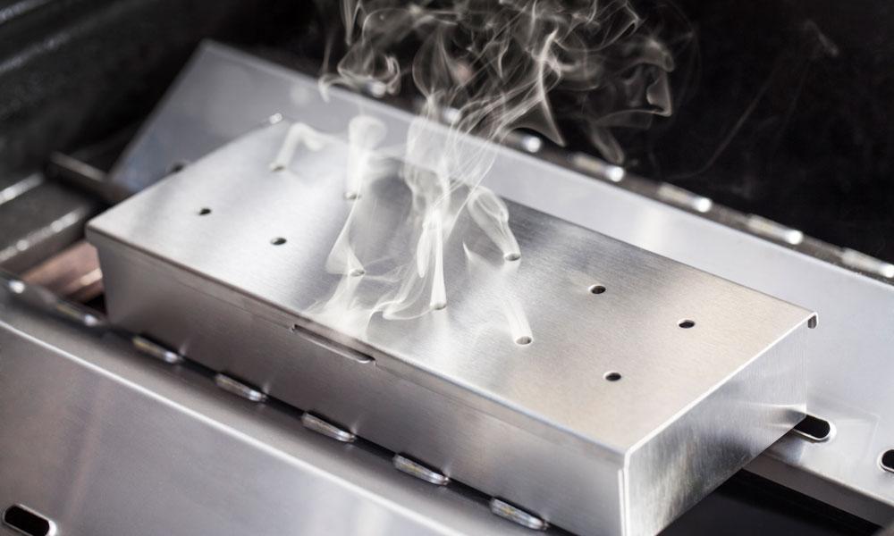 Fervor Grill Gas Grill Barbecue Smoker Box