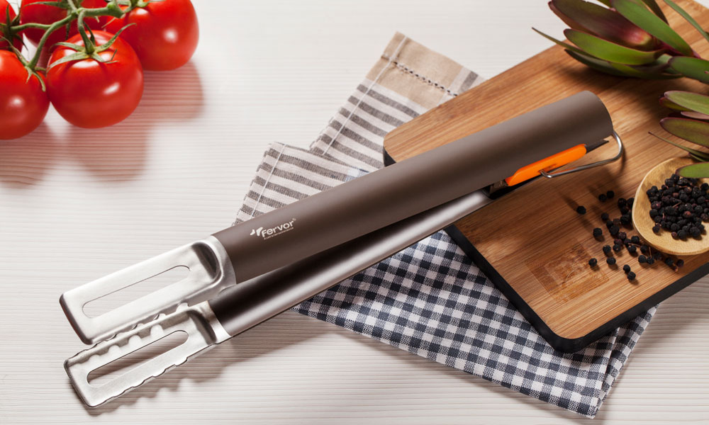 Fervor Grill Gas Grill Barbecue Tongs
