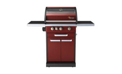 Fervor Grill Red Icon Gas Grill Barbecue IC300-R