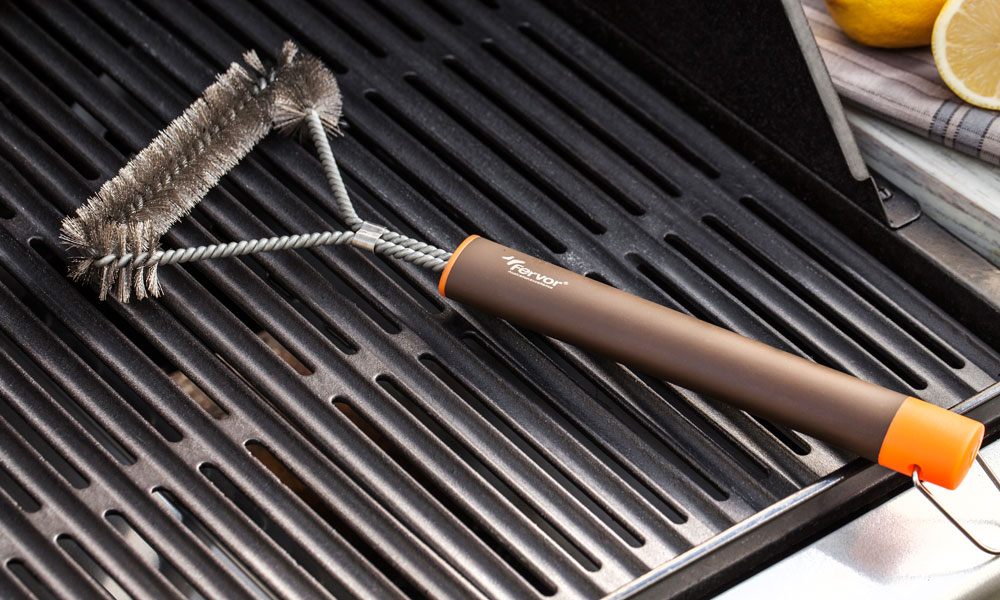 Fervor Grill Gas Grill Barbecue Cleaning Brush
