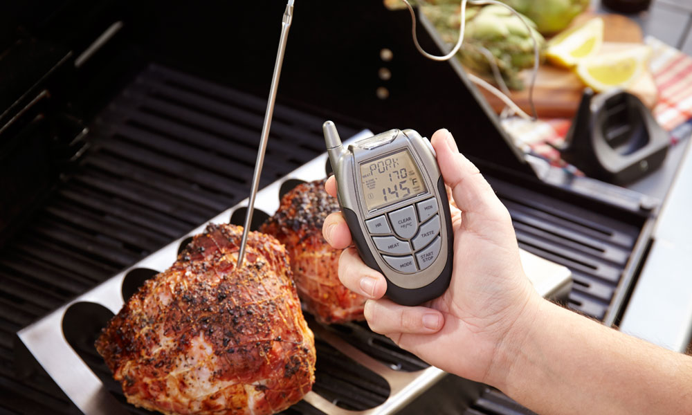 Fervor Grill Gas Grill Barbecue Digital Thermometer